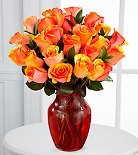 Fall Fantasy Fiesta Rose Bouquet