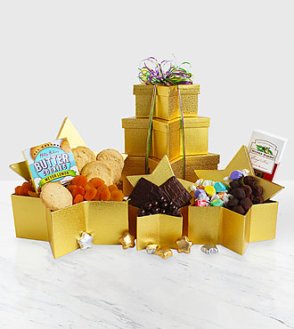 You're a Gold Star Gift Tower