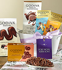 Godiva Galore For Mom Gift Tin