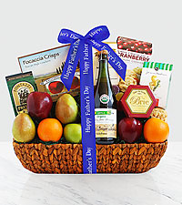 Dad's Fresh Fruits and Flavors Gourmet Gift