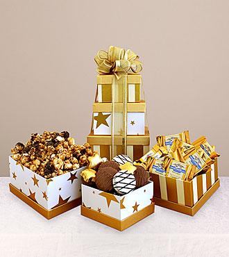 Gourmet Chocolate Gift Tower