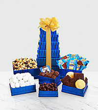 Kosher Winter Wonder Gift Tower