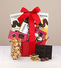 Godiva® Favorites Holiday Gift Tin