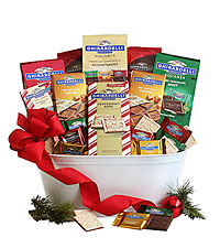 Happy Holidays Ghirardelli® Gift Basket