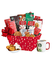 Starbucks® Holiday Morning Gift Basket