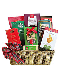 Festive Favorites Meat & Cheese Gift Basket