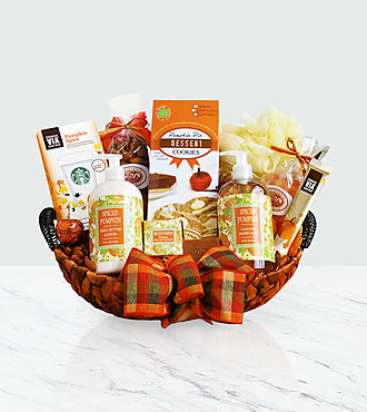 Fall Pumpkin Spice Serenity Spa