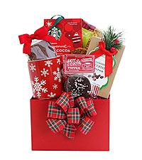Christmas Morning Hot Cocoa Gift Basket