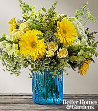 BouquetSomething Blue™ par FTD® - VASE INCLUS