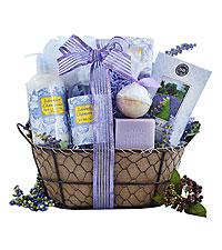 Lavender Relaxation Spa Basket