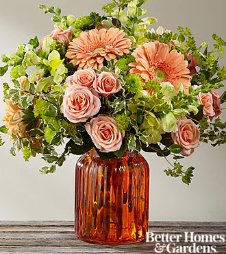 Bouquet Peachy Keen™ par FTD® - VASE INCLUS