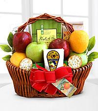 Fruitful Greeting Gourmet Basket - Good