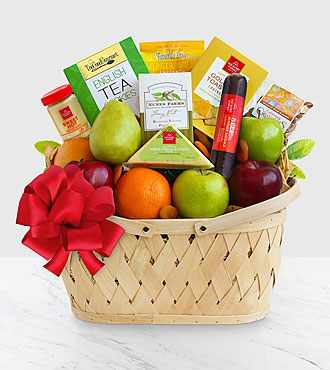 Fruitful Greeting Gourmet Basket - Better
