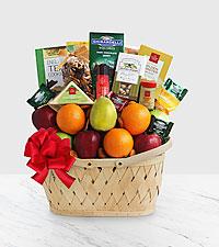 Fruitful Greeting Gourmet Basket - Best