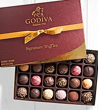 Godiva® Signature Chocolate Truffle Assortment - 24 piece Box