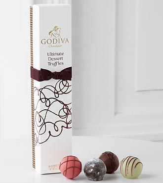 Godiva® Limited Edition Ultimate Dessert Truffles - 6-piece