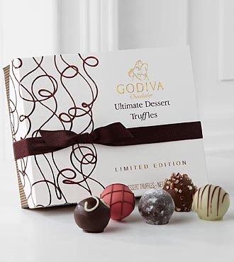 Godiva® Limited Edition Ultimate Dessert Truffles - 12-piece