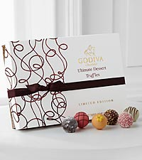 Godiva® Limited Edition Ultimate Dessert Truffles - 24-piece