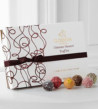 Godiva® Limited Edition Ultimate Dessert Truffles - 24-piece