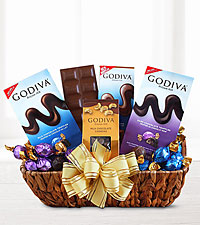 Everyones Favorite Godiva chocolate Basket