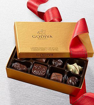 Godiva® Gold Ballotin - 8-piece