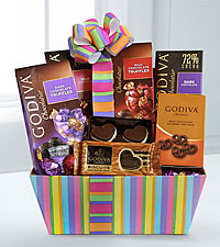 Godiva® Rainbow of Treats