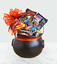 Happy Halloween Cauldron of Chocolate Treats