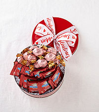 Chocolate Lover's Valentine's Assortment Gift Tin