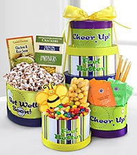 Get Well Soon Gourmet Gift Tower