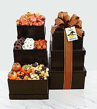 Happy Halloween Tower of Sweets
