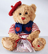 Valentino the Godiva® Valentine's Day Bear