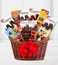 Grand Godiva® Chocolate Gift Basket