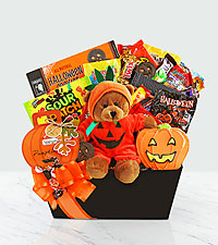 Happy Halloween-Bear and Halloween sweets