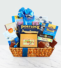 Happy Hanukkah Kosher Gift Basket