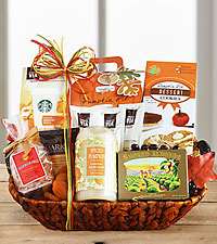 Winter Spices Spa Basket