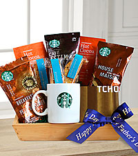 Dad's Crate of Starbucks