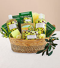 Cucumber and Olive Oil Pamper Her Gift Basket
