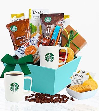Starbucks®  Sunrise Surprise Basket for Mom