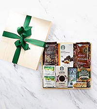 Coffee Lover Starbucks Crate