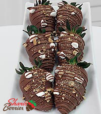 Shari's Berries™ Limited Edition Chocolate Dipped Give Me Smore Strawberries - 6 piece