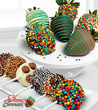 Shari's Berries™ Limited Edition Chocolate Dipped Celebration Berries & Oreo® Cookies