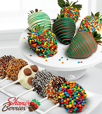 Chocolate Dip Delights™ Sweet Celebration Real Chocolate Strawberries & Oreo® Cookies