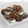 Chocolate Dip Delights™ Nuts for You Real Chocolate Covered Oreo® Cookies - 12 piece