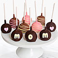 Shari's Berries™ Limited Edition Chocolate Dipped Mother's Day Cake Pops - 10 piece