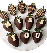 Shari's Berries™ Limited Edition Chocolate Dipped Miss You Berry Gram