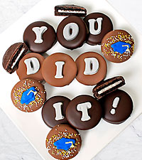Belgian Chocolate Dipped You Did It! Graduation Oreo® Gram
