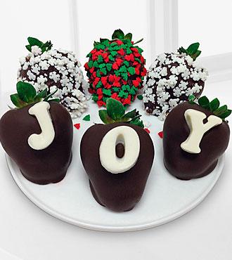 Christmas Joy Holiday Berrygram - 6 piece