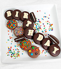 Belgian Chocolate Dipped Birthday Oreo® Gram