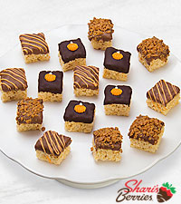 Belgian Chocolate Dipped Harvest Fun Crispy Bites