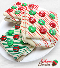 Belgian Chocolate Dipped Holiday Smores